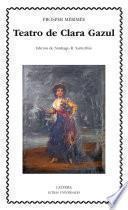 Libro de Teatro De Clara Gazul