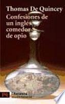 Libro de Confesiones De Un Inglés Comedor De Opio