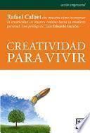 Libro de Creatividad Para Vivir