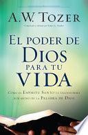 Libro de El Poder De Dios Para Tu Vida