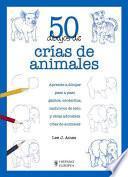 Libro de 50 Dibujos De Crías De Animales