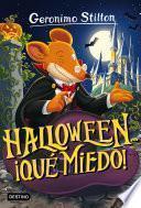 Libro de Halloween… ¡qué Miedo!