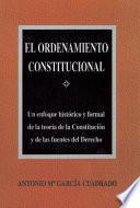 Libro de El Ordenamiento Constitucional