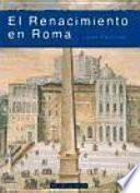 Libro de El Renacimiento En Roma