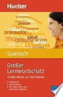 Libro de Großer Lernwortschatz Spanisch