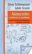 Libro de Adolescentes Y Problemas De Aprendizaje