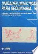 Libro de Unidades Didácticas Para Secundaria Vi