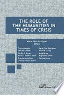Libro de The Role Of The Humanities In Times Of Crisis