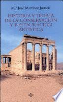 Libro de Historia Y Teoría De La Conservación Y Restauración Artística