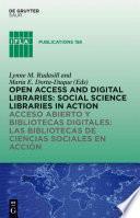 Libro de Acceso Abierto Y Bibliotecas Digitale