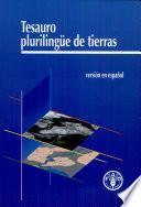 Libro de Multilingual Land Tenure Thesaurus