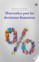 Libro de Matemática Para Las Decisiones Financieras