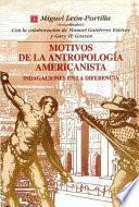 Libro de Motivos De La Antropología Americanista