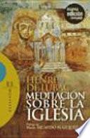 Libro de Meditación Sobre La Iglesia
