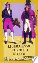 Libro de El Liberalismo Europeo