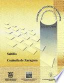 Libro de Saltillo Estado De Coahuila De Zaragoza. Cuaderno Estadístico Municipal 2000
