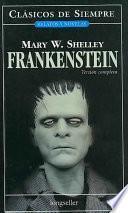 Libro de Frankenstein