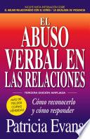 Libro de El Abuso Verbal En Las Relaciones (the Verbally Abusive Relationship)