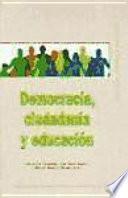 Libro de Democracia, Ciudadanía Y Educación