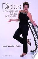 Libro de Dietas Y Recetasde Maria Antonieta