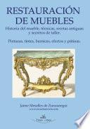 Libro de Restauración Básica De Muebles Y Nociones De Pintura Decorativa