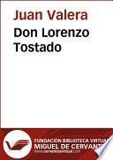 Libro de Don Lorenzo Tostado