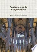 Libro de Fundamentos De Programación