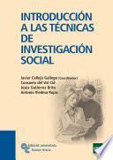 Libro de Introducción A Las Técnicas De Investigación Social