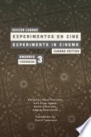 Libro de Experiments In Cinema Yearbk #