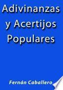Libro de Adivinanzas Y Acertijos Populares