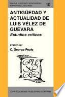 Libro de Antigüedad Y Actualidad De Luis Vélez De Guevara