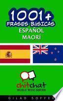 Libro de 1001+ Frases Básicas Español   Maorí