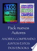 Libro de Pack Nuevos Autores, Ahorra Comprando Juntos Estos Dos Ebooks