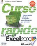 Libro de Curso Rapido De Microsoft Excel 2000