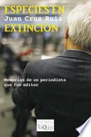 Libro de Especies En Extinción
