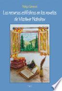 Libro de Los Recursos Estilísticos En Las Novelas De Vladimir Nabokov
