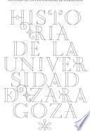 Libro de Historia De La Universidad De Zaragoza