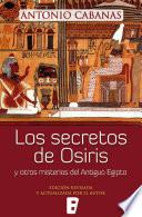 Libro de Los Secretos De Osiris