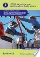 Libro de Montaje De Redes Eléctricas Aéreas De Alta Tensión. Elee0209