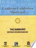 Libro de Tacámbaro Estado De Michoacán. Cuaderno Estadístico Municipal 1996
