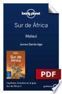 Libro de Sur De África 3. Malaui