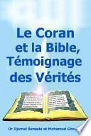 Libro de Le Coran Et La Bible