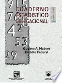 Libro de Gustavo A. Madero Distrito Federal. Cuaderno Estadístico Delegacional 1998