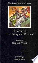 Libro de El Doncel De Don Enrique El Doliente
