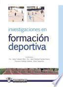 Libro de Investigacion En Formacion Deportiva