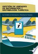 Libro de Gestión De Unidades De Información Y Distribución Turística
