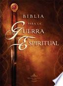 Libro de Biblia Para La Guerra Espiritual Rvr 1960