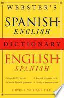 Libro de Webster S Spanish English/english Spanish Dictionary