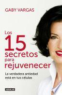 Libro de Los 15 Secretos Para Rejuvenecer