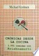 Libro de Crónicas Desde La Cocina